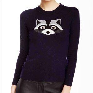 Kate Spade Wool Blend Raccoon Sweater Size S